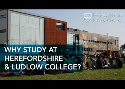 Why study at Herefordshire & Ludlow College?