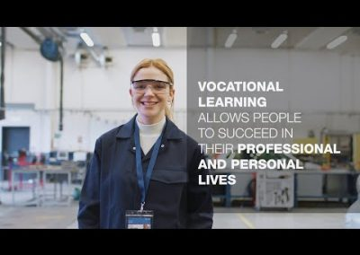 Vocational education and training in the next decade