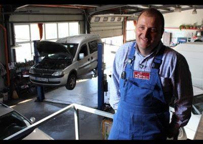 Francisc Kasziba, cel mai bun mecanic auto din România